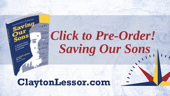 Saving Our Sons by Clayton Lessor is available for pre-orders
