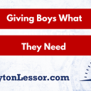 Raising Sons: Giving Boys What They Need